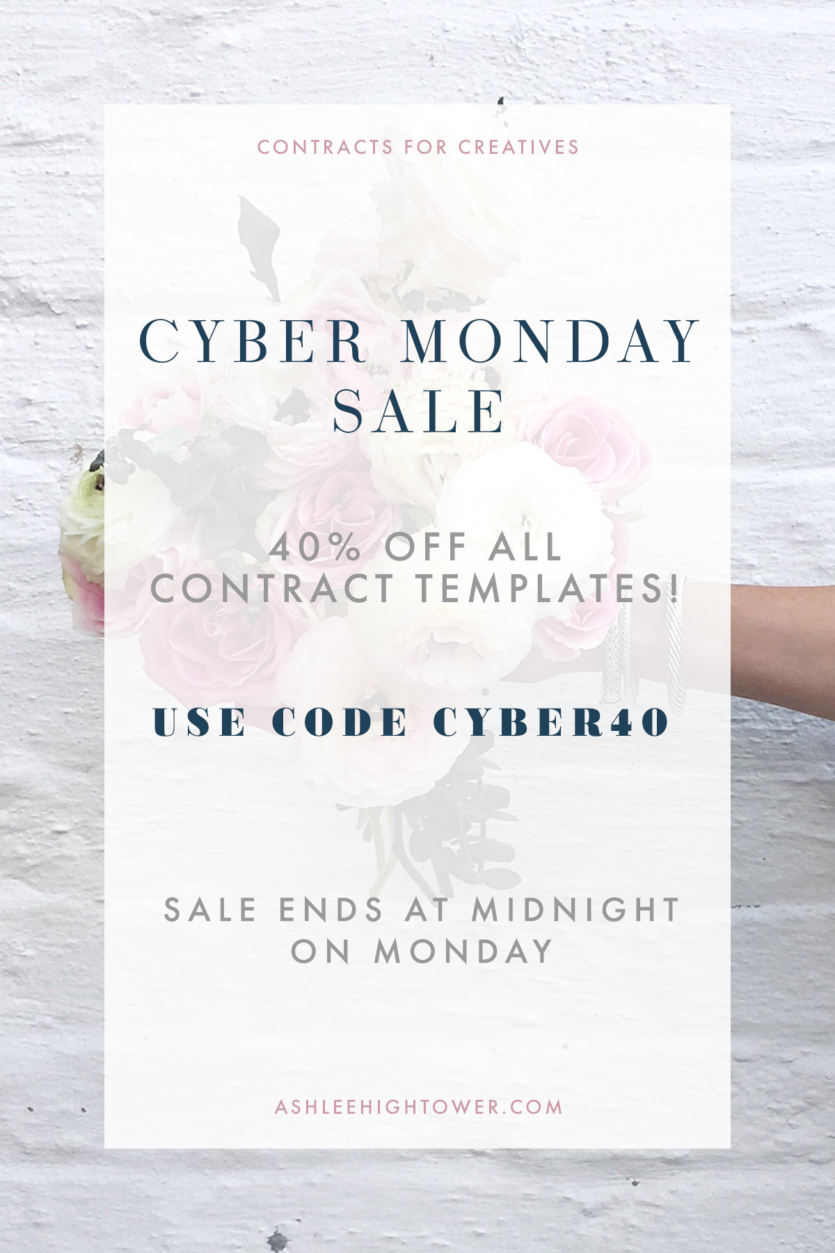 Contracts for Creatives | Cyber Sale | Contract Templates for Creative Entrepreneurs