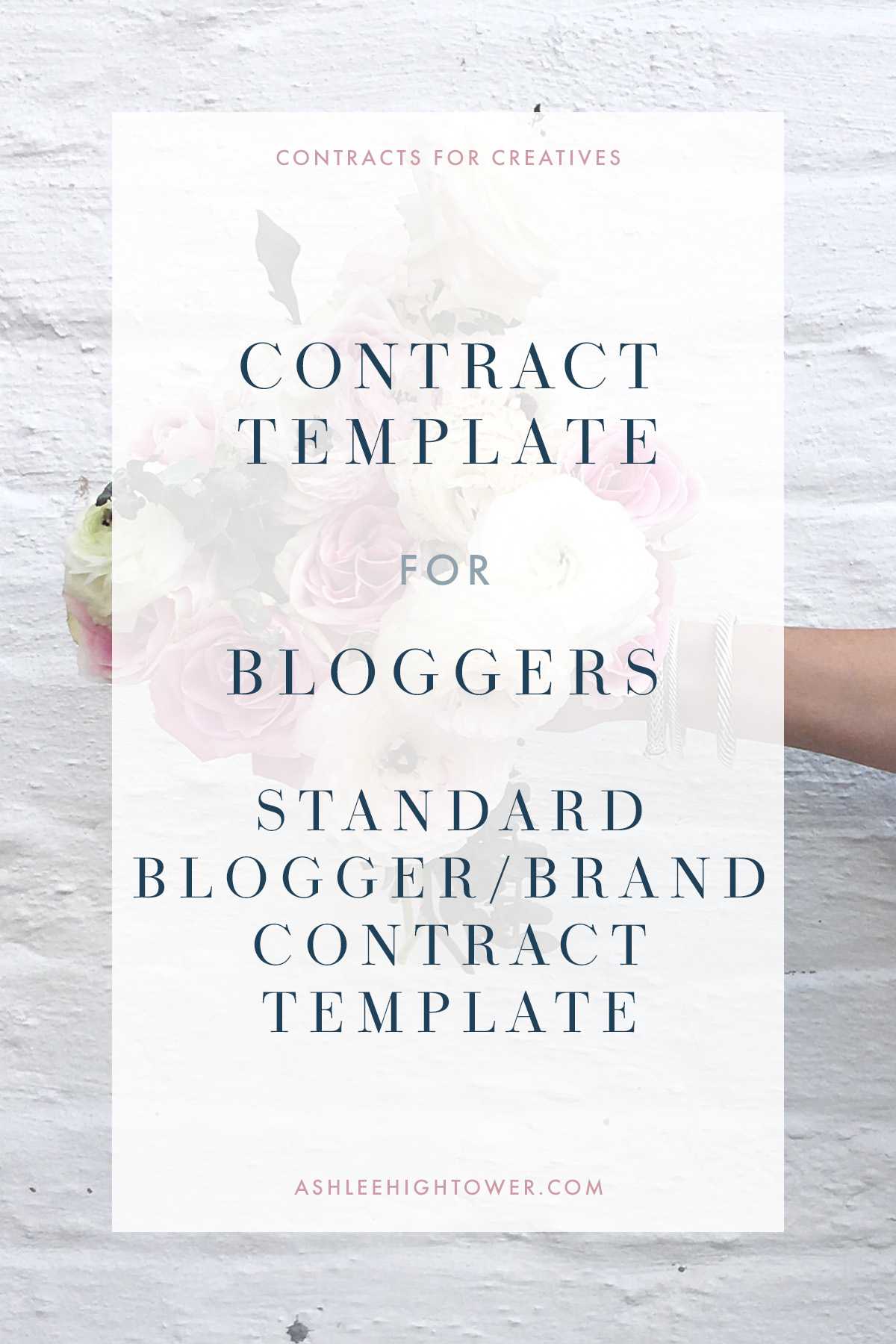 Contracts for Creatives | Contract Template | Contract Bloggers by attorney Ashlee Hightower