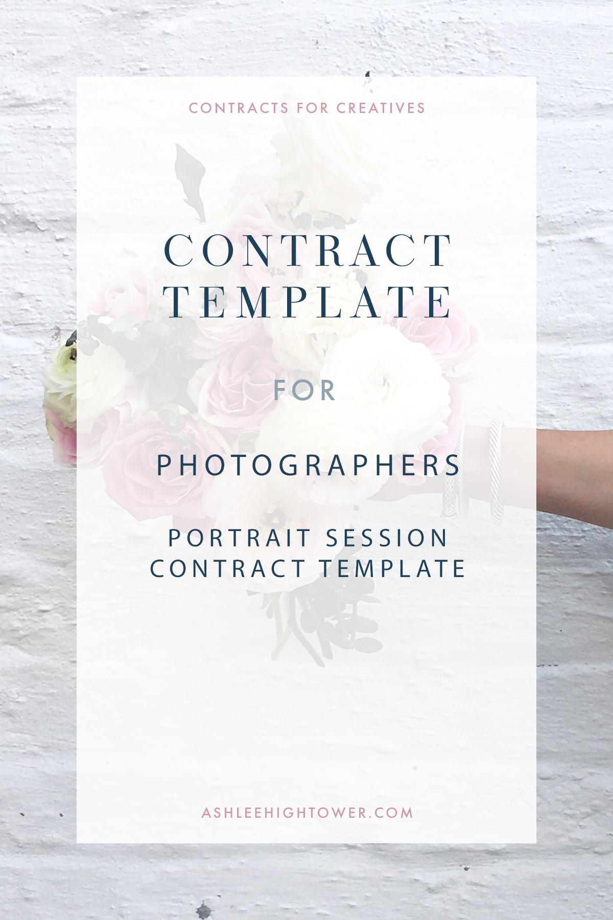 Portrait Session Contract Template | Contracts for Creatives